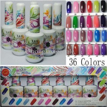 Brand New Soak Off Color Uv Gel Nail Art Polish Art Led Color Gel