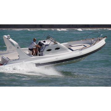 32 feet luxury inflatable yacht/rib boat/hypalon tube luxury