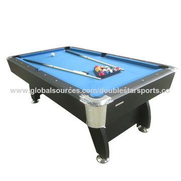 China Billiard Table From Guangzhou Manufacturer Huizhou Double - Adjustable pool table