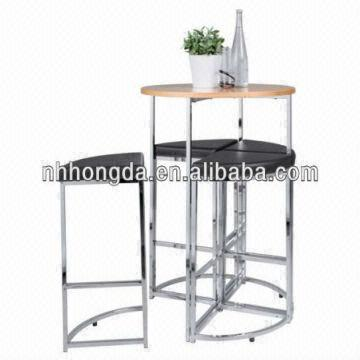 Metal Frame Home Bar Furniture Set For Sale 1 In Good Price Quality