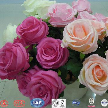 Rose silk flowers factory direct cheap china real touch artificial china rose silk flowers factory direct cheap china real mightylinksfo