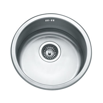 Single Round Bowl Stainless Steel Sink China Single Round Bowl Stainless  Steel Sink