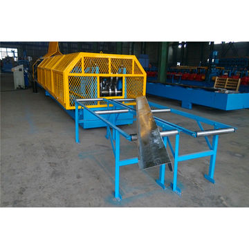 China Full Automatic Interchangeable CZ Purlin Roll Forming Machine