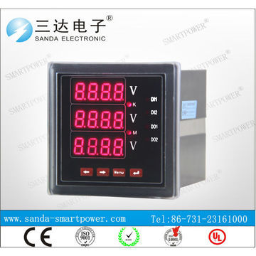 Rs485 Modbus 220v Termianl Wiring Diagram Digital Ammeter And Voltmeter Global Sources