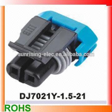 china delphi auto 2p female wire harness connector