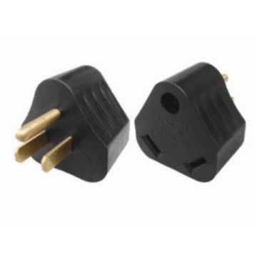 China 30A male to 15A female RV power adapter