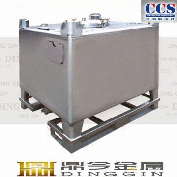 Ss304 Stainless Steel Chemical Storage Ibc Tank Global Sources