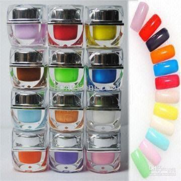 Brand New Soak Off Color Uv Gel Nail Art Led Color Gel Polish 192