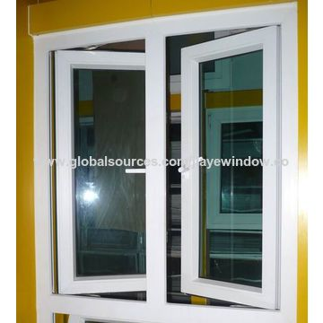 China Factory design aluminum clad wood window from Qingdao ... on