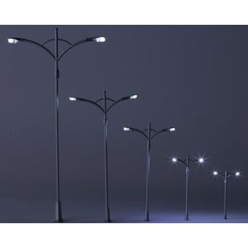 Various Miniature Scale Model Street Lights For