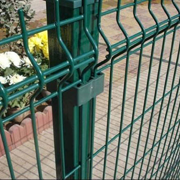 China Decorative Pvc Coated Welded Wire Mesh Fence