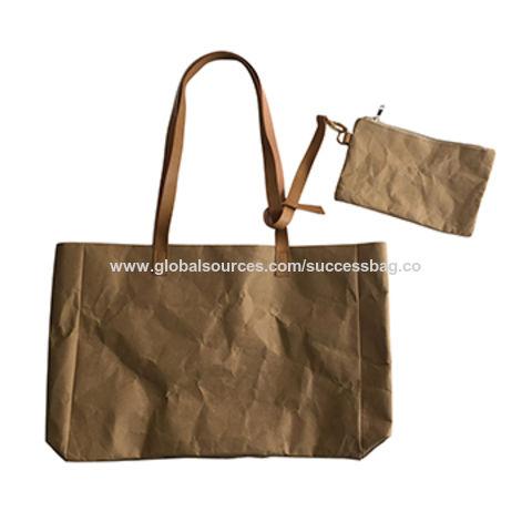 Washable Kraft Paper Bag China