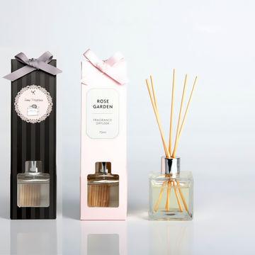 China New High Glass 100ml Romance Jasmine Lavender Reed Diffuser
