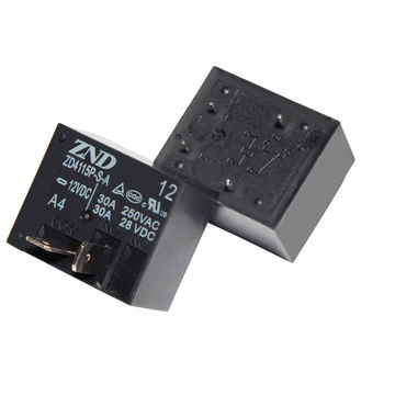 China ZD4115P(T93) 12V 30A 4-pin Electromagnetic Relay for Industry and Household Appliances Use