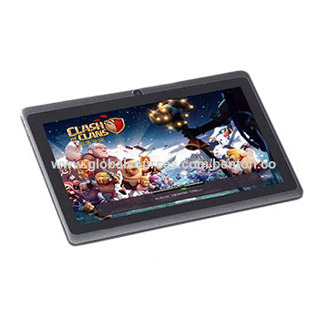 China 3D Game Tablet PC 7 inch Allwinner A33 Android 6 0