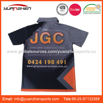 China Custom-made sublimation polo shirt from Nanjing Manufacturer ... 17696ad9e