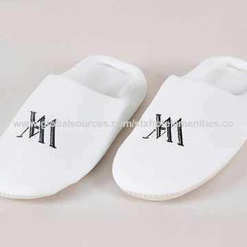 35698458377 High Quality Terry Towel Cloth Bath Disposable Hotel Slippers ...