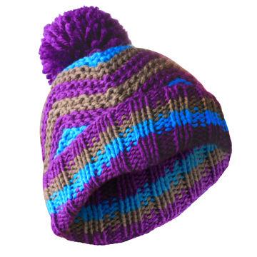 China Handmade warm beanie cap