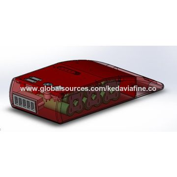 China OEM lithium ion battery pack 24V 6Ah for electric skate with USB ports and LED light