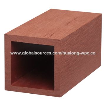 Solid Wood Plastic Composite Decking Boards for End Cover