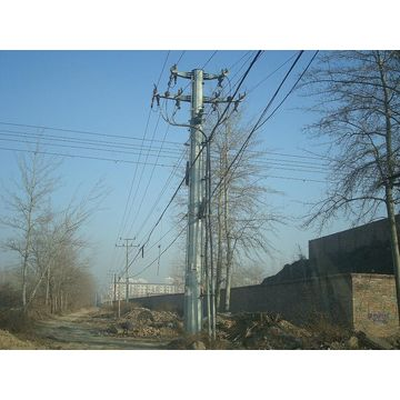 Philippines Anti-rust Octagonal Electrical Steel Pole