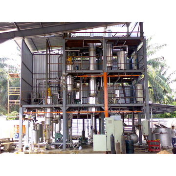 Waste oil refine plant