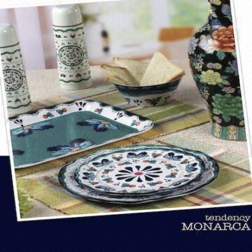 Melamine Dinnerware Set China Melamine Dinnerware Set & Hand-painted Melamine Dinnerware Set with Various Shapes/Designs ...