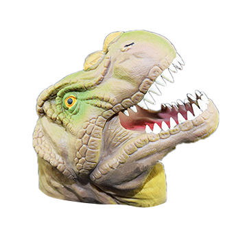 2017 competitive price dinosaur hand puppet