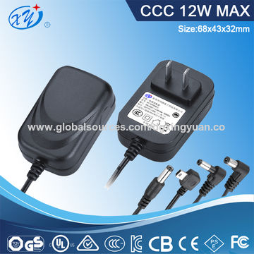 12W AC adapter with en61347 approval