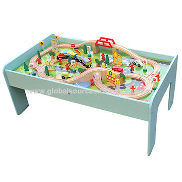 Attrayant Wooden Kids Train Table China Wooden Kids Train Table