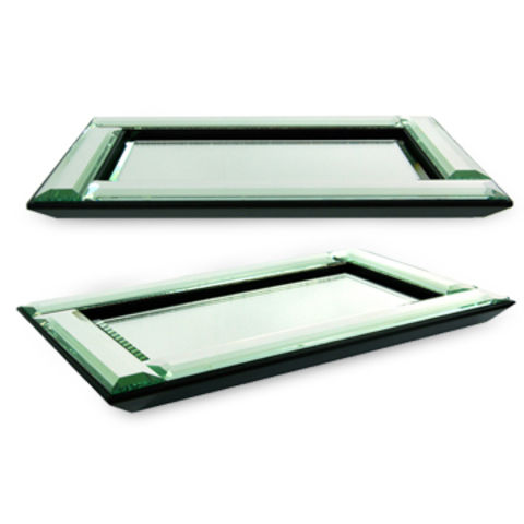 China Mirror Tray Top For Bathroom Accessories With Wooden Bottom Measuring 12 5 X 7 5 X 1 Inches On Global Sources Mirror Tray