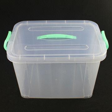 plastic storage containers plastic storage container with wheel and handle global 29778