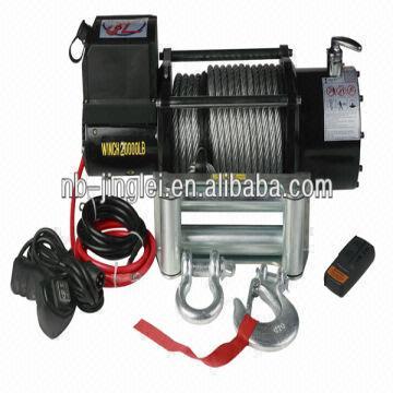 China 20000lbs Truck Winch Electric Tugger 10 Ton