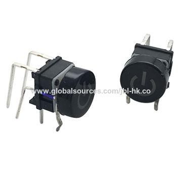 China 6 6 Led Illuminated Tact Switch From Dongguan Manufacturer