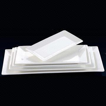 Rectangular Plates China Rectangular Plates & Rectangular Plates Made of Magnesium Bone Porcelain For Hotel and ...
