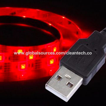 China Usb Charge 5v White Pcb Led Strip High Quality Battery Powered