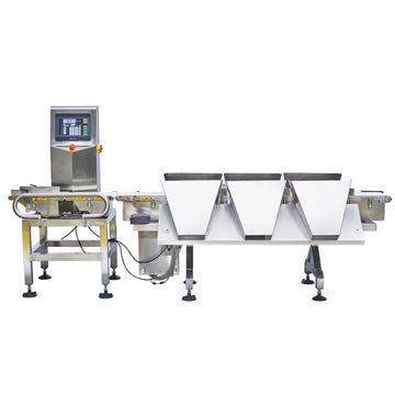 multi grade automatic check weight machine for food processing