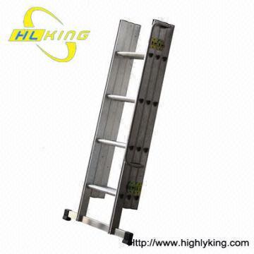 China Aluminium Folded Loft Ladder (HL 303) /Sliding Attic Ladder /extension