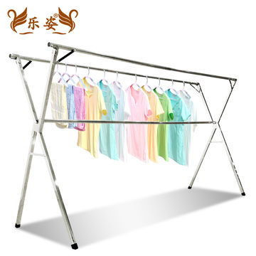 clothes paffy stainless three kitchen drying layer steel for jumbo home dp poll amazon blue in rack stand