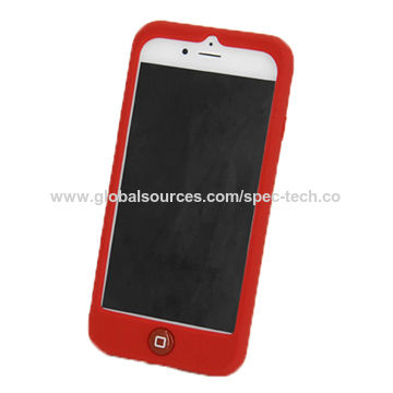 the latest cdfb7 44ab6 Silicone rubber case for iPhone 7 plus