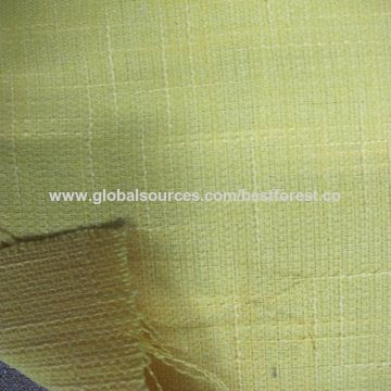 China 100 Polyester Imitated Linen Upholstery Fabric
