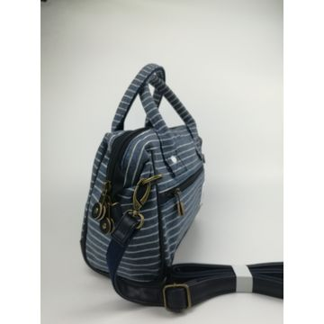China Shoulder bags, OEM/ODM, made of 100% knitted fabric