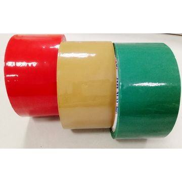 China Different Size Sticky Waterproof Custom Colored Bopp Packaging Tape