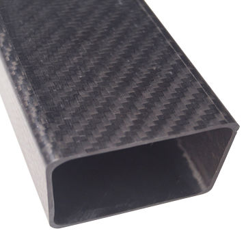 China Price Of 3k Carbon Fiber Rectangular Customize Square S