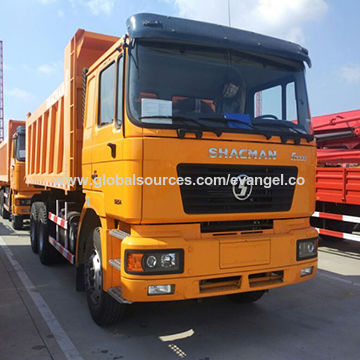 China Camion Shacman F200 dump truck 36200kg dumper with ABS for