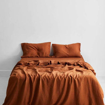 Bed Sheet Natural 100 Linen, Flax Linen Bedding Manufacturers In India