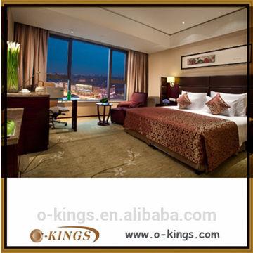 China Royal Chinese Bedroom Furniture Set Birch Wood