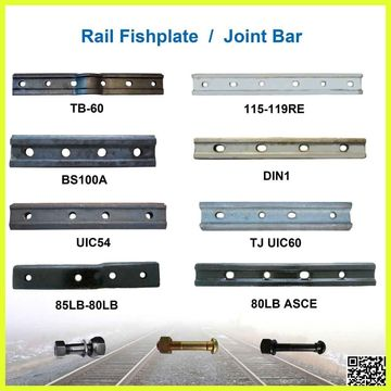 115RE fish plate for railroad parts | Global Sources