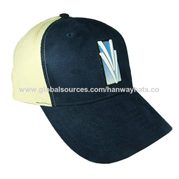 b3d2e33733f China 6-panel Cotton Twill Fashionable Baseball Cap with Applique  Embroidery and Frayed Brim ...