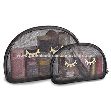 Global Sources Eyelash Print Makeup Bag